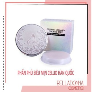 [HCM]Phấn phủ siêu mịn dành cho da dầu Cellio shining ex Twoway Cake 12g 13 Nude Beige (1 hộp tặng 1 lõi) thumbnail
