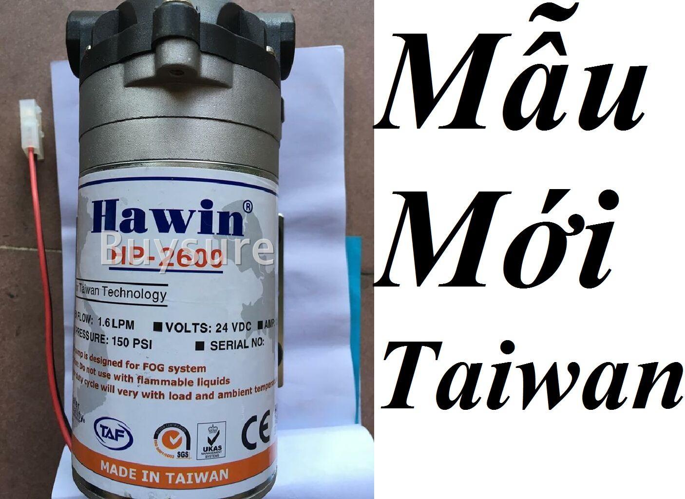 Bơm tăng áp-phun sương cao cấp Hawin Taiwan HP 2600 Mẫu Mới