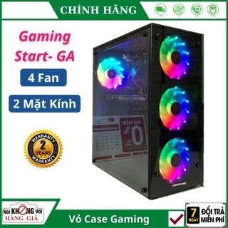 Vỏ Cây PC Gaming Start - GA 4 fan FREESHIP 2 mặt kính cường lực đẹp (398 x 195 x 326 mm), Bảo hành 2 năm thumbnail