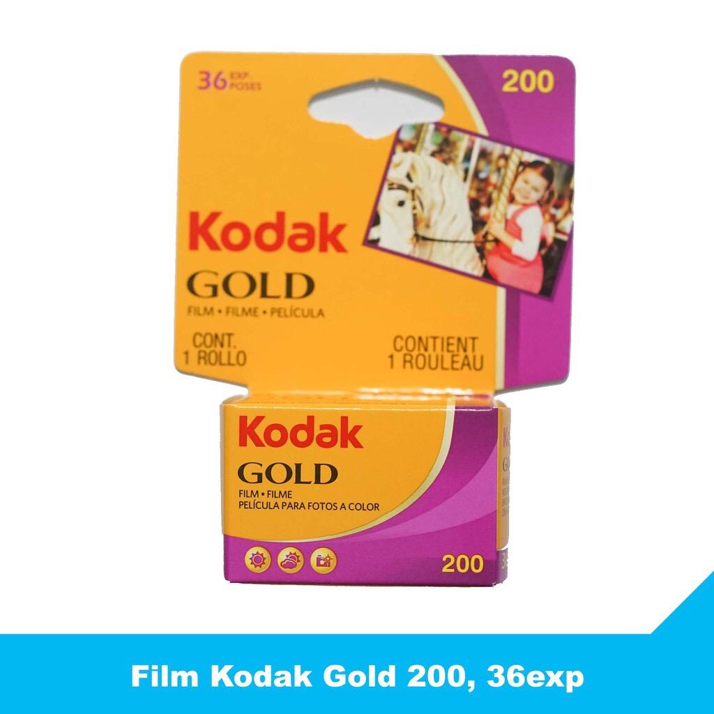 Giá Film Kodak Gold 200, 36exp - Phim chụp ảnh 35mm