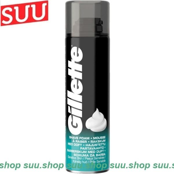 Bọt Cạo Râu 200ml Gillette Sensitive Skin Shave Foam cao cấp