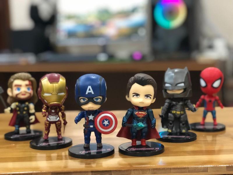 Mô hình siêu anh hùng Marvel Avengers6 Nhân Vật Nhật Bản