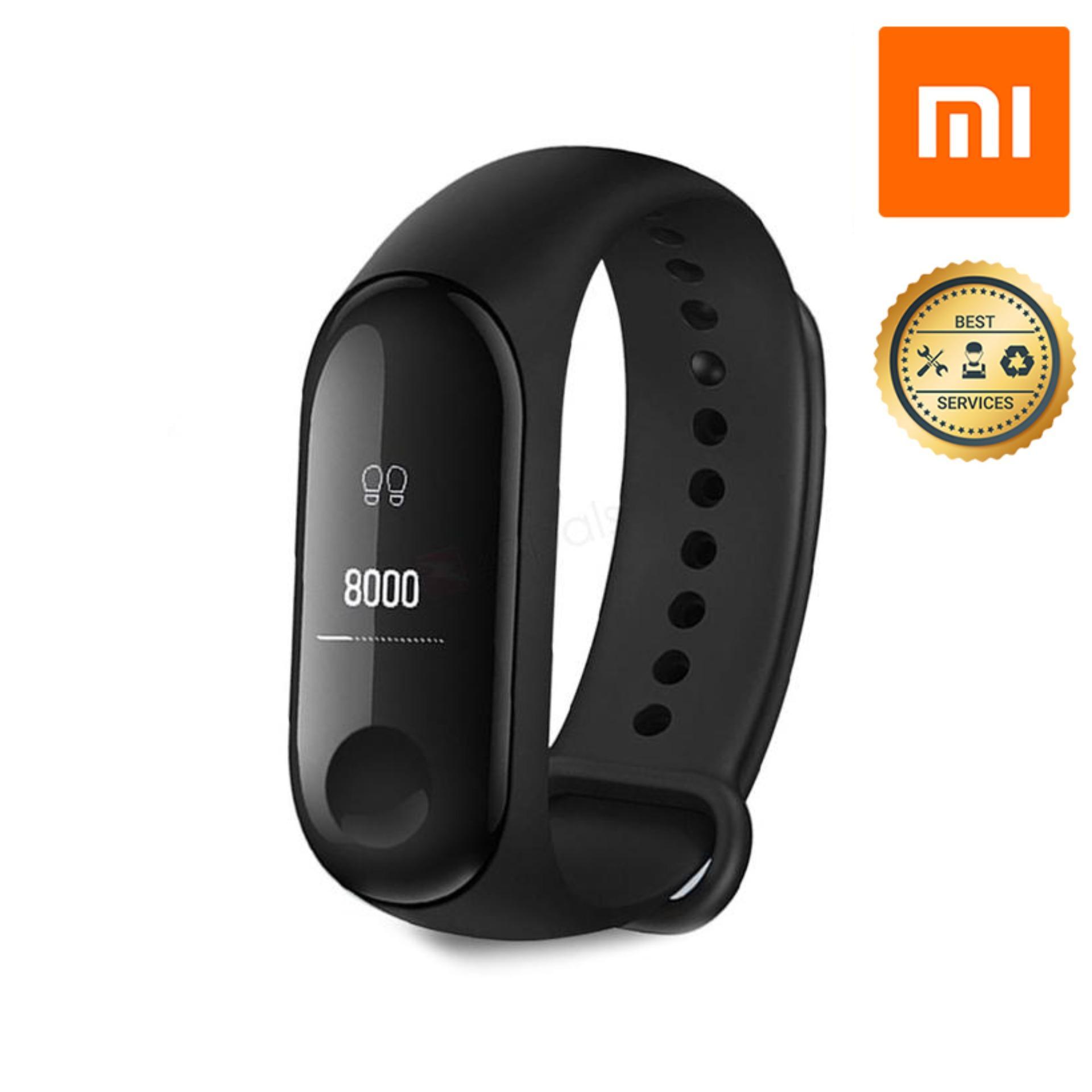Vòng đeo tay thông minh Xiaomi Mi Band 3 Vòng Đeo Tay Thông Minh Theo Dõi Vận Động Xiaomi Mi Band 3 - Hàng Chính Hãng