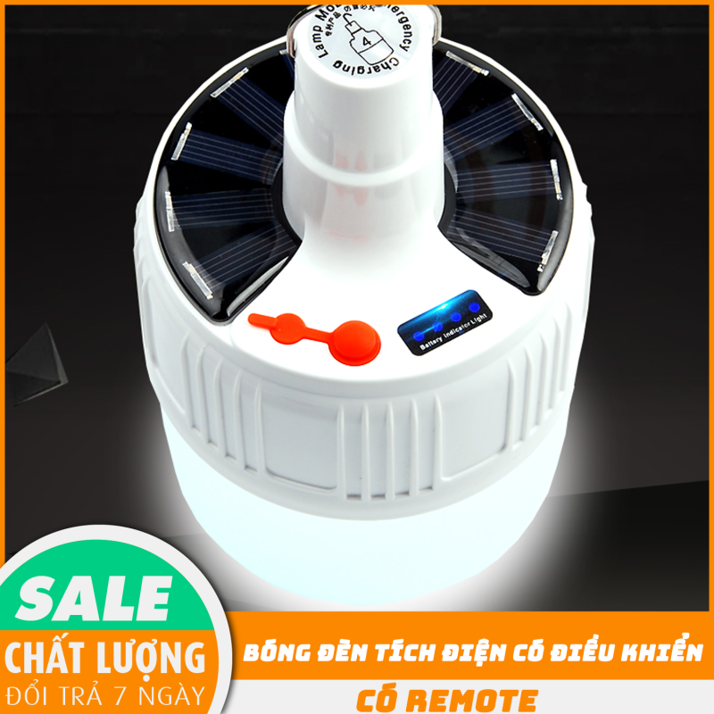Bóng đèn tích điện, bóng đèn tích điện có điều khiển từ xa, SL-24 ( LOẠI TO) -  100 W - 1 ĐỔI 1 TRONG 7 NGÀY