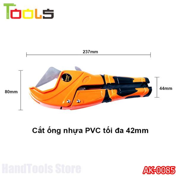 Kéo cắt ống PVC lưỡi INOX Asaki AK-0085 42mm ( Cao cấp)