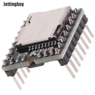 Jettingbuy Thẻ TF U Đĩa Mini Máy Nghe Nhạc MP3 Mô-đun Âm Thanh Bằng Giọng Nói Arduino DFPlayer Board thumbnail
