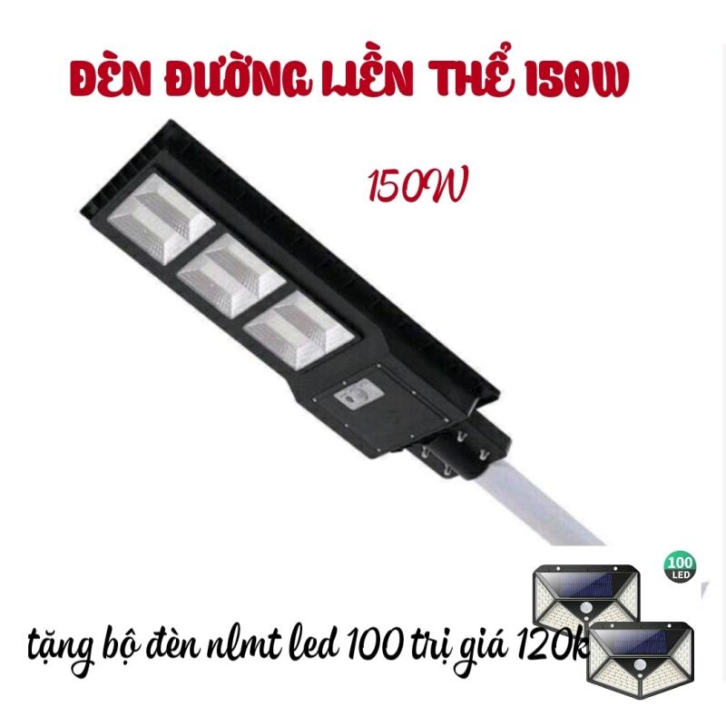 Đèn đường liền thể  Năng Lượng Mặt trời 150W