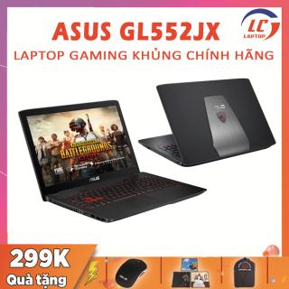 Laptop Chơi Game Giá Rẻ Asus GL552JX, i7-4720HQ, VGA Rời NVIDIA GTX 950M, Màn 15.6 Full HD, Laptop Gaming thumbnail