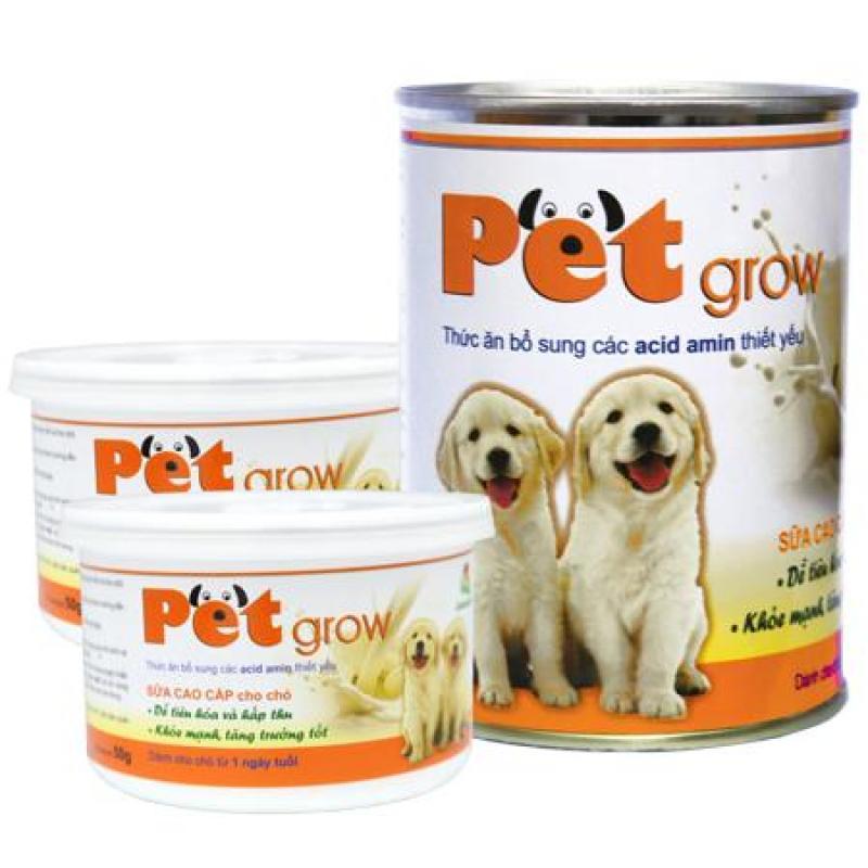 Sữa chó con PET GROW (Lon 50g)