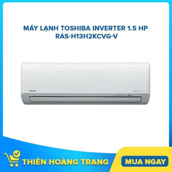 Bảng giá Máy lạnh Toshiba Inverter 1.5 HP RAS-H13H2KCVG-V
