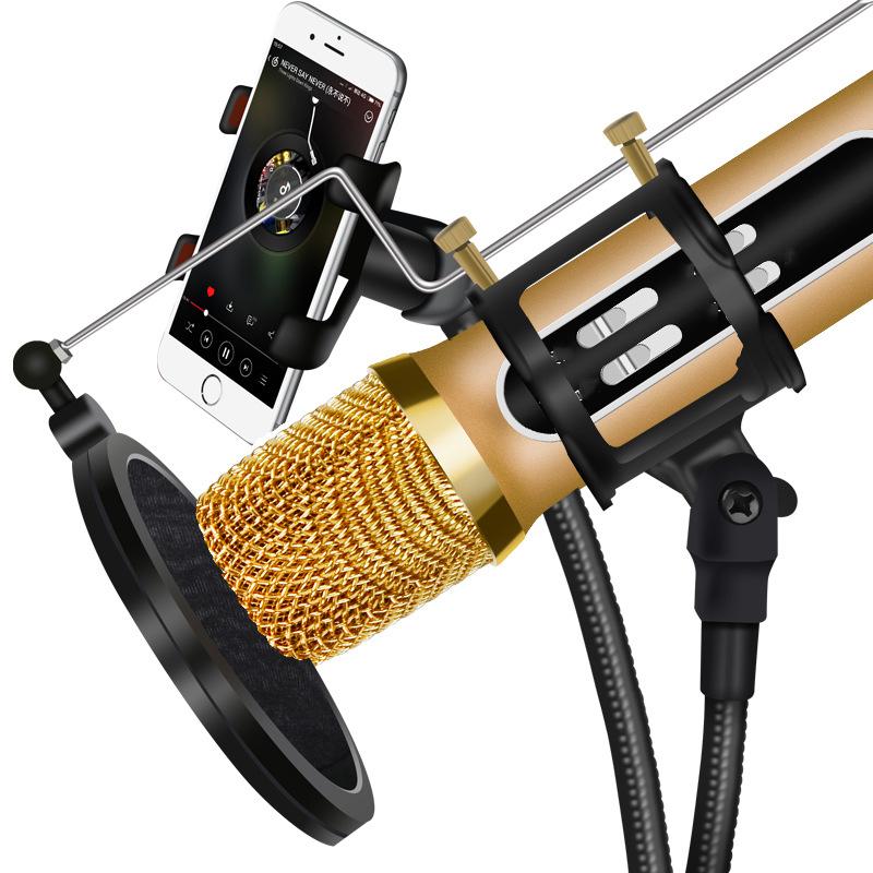 [TỔNG XẢ KHO ] Bộ Micro C11 Live Stream, Hát Karaoke Chuyên Nghiệp Mới, Đầy Đủ Phụ Kiện Tai Nghe, Cáp Sạc, Dây Live, Dây Lấy Nhạc-Micro C11 Thu Âm Live Stream Loại Cao Cấp Tương Thích Với Android Và IOS, Âm Thanh Hay-BH 12 THÁNG