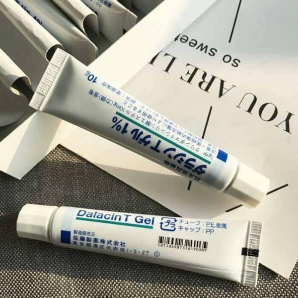 Gel trị mụn Dalacin T Gel 1% Nhật Bản - tuýp 10g