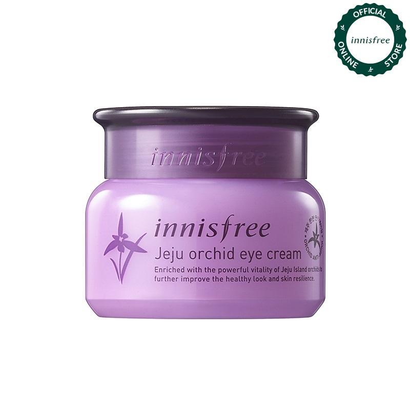 Kem dưỡng mắt ngăn ngừa lão hóa sớm từ hoa lan Innisfree Jeju Orchid Eye Cream 30ml