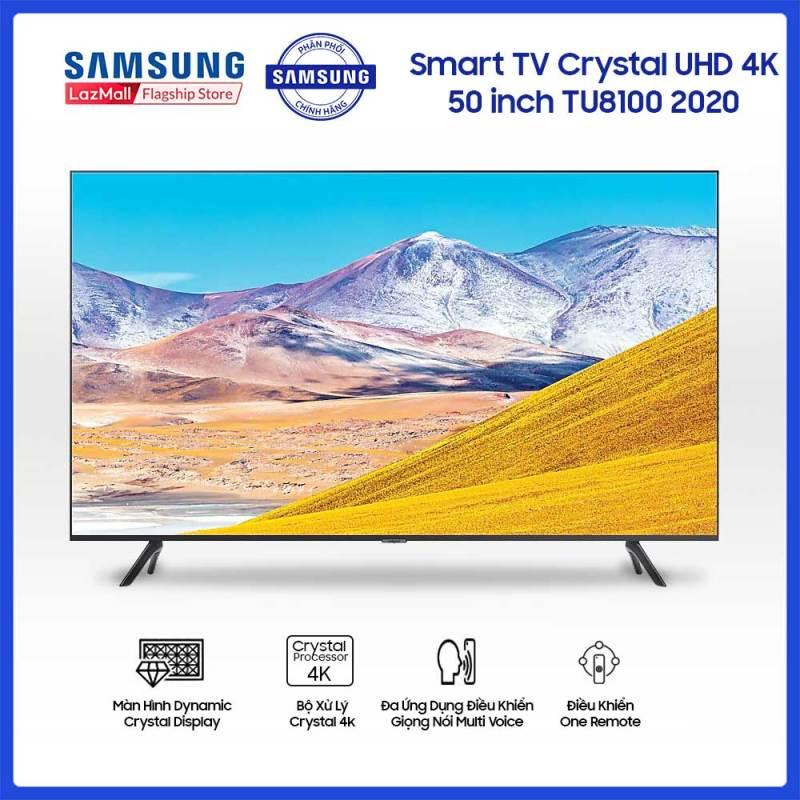 Smart TV Samsung Crystal UHD 4K 50 inch TU8100 2020 chính hãng