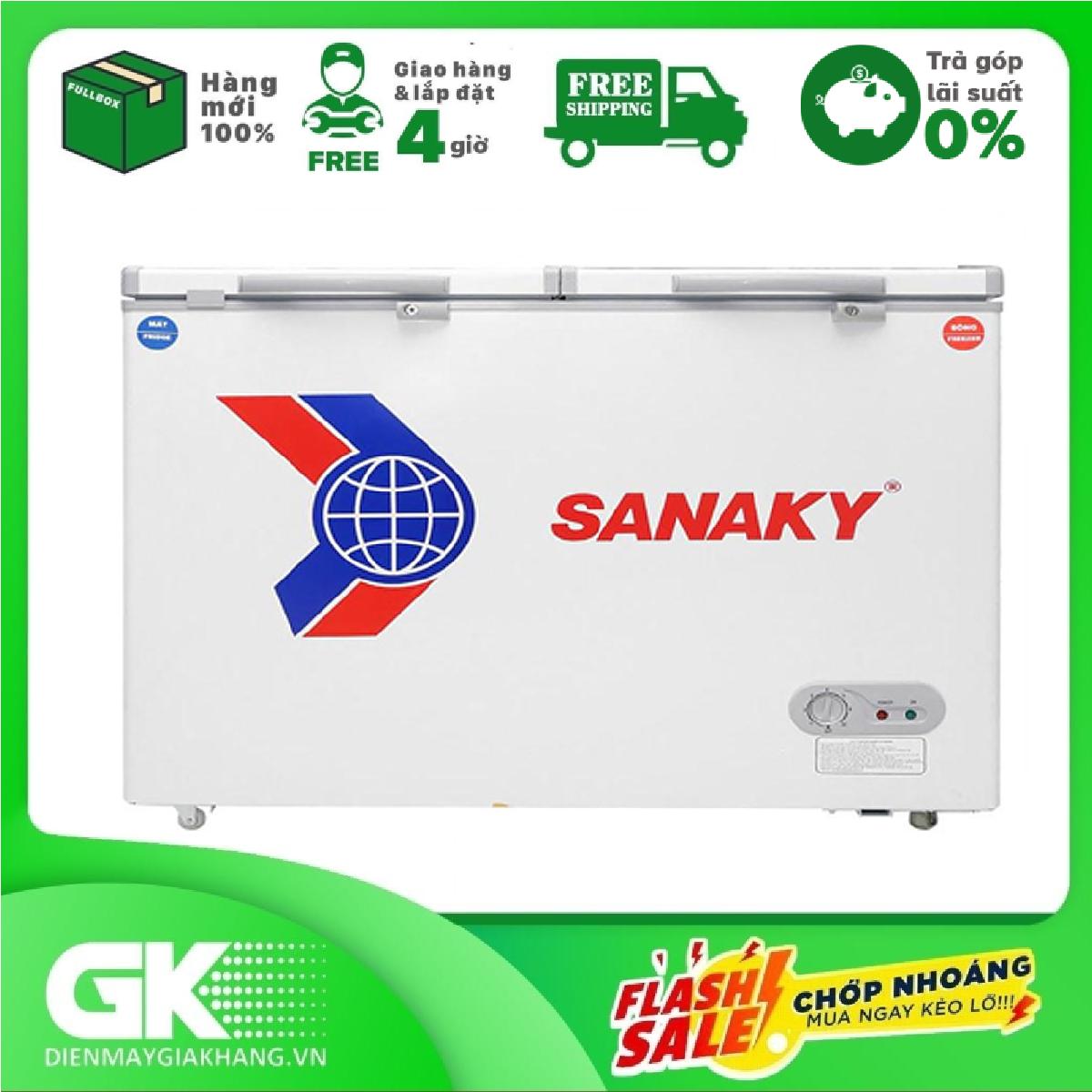 nhập mã exclusive giảm thêm 10%] trả góp 0% - tủ đông sanaky vh-285a2  (220l)- bảo hành 2 năm - Sắp xếp theo liên quan sản phẩm