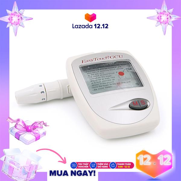 [MUA 1 TẶNG 4] Máy đo đường huyết 3 trong 1 Rossmax Easy Touch GCU ET322 +  01 Dầu thảo dược An Phúc Bình