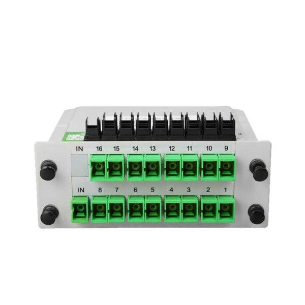 Bảng giá Bộ chia quang Splitter 1x16 SC/APC lắp sẵn box Phong Vũ