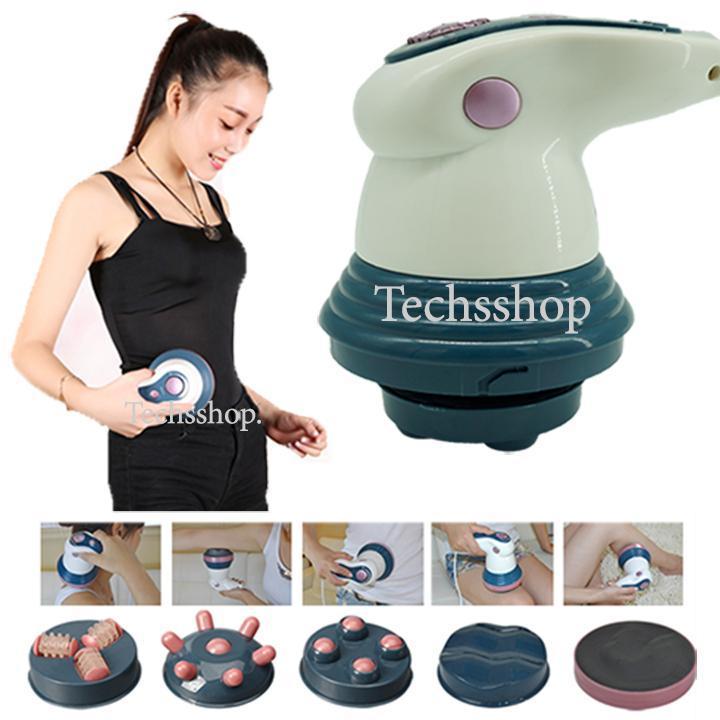[Video thật tế, tặng bao lì xì xuân 2020] Máy massage cầm tay hồng ngoại 4 đầu PL-605 - Máy mát xa giảm cân - Máy matxa chăm sóc sức khỏe - Máy massage thon gọn cơ thể - Máy massage toàn thân tốt nhất