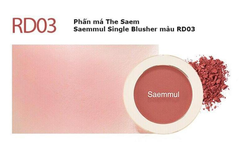 Phấn Má Hồng The Saem Saemmul Single Blusher