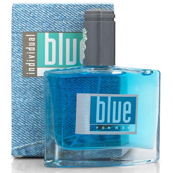 Bộ 10 Nước hoa nữ Blue for Her 50 ml hương thơm nồng nàn dạng chai thủy tinh xịt
