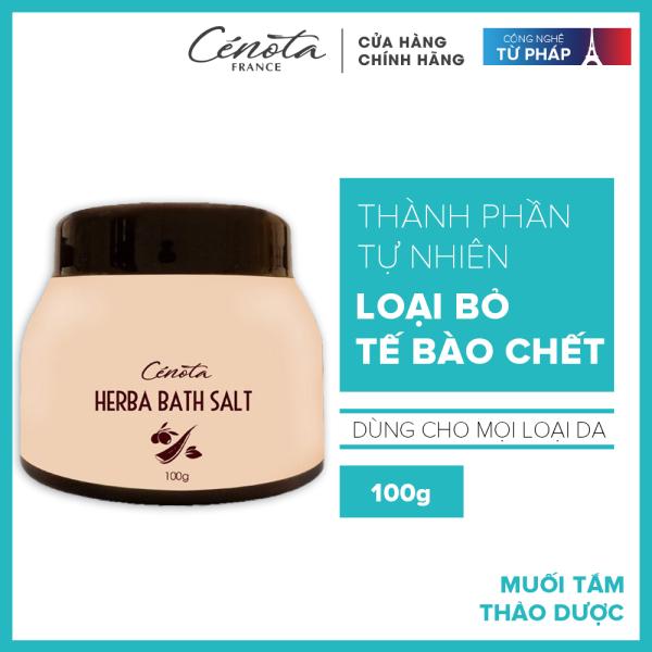 Muối tắm thảo dược Cénota Herba Bath Salt 100g
