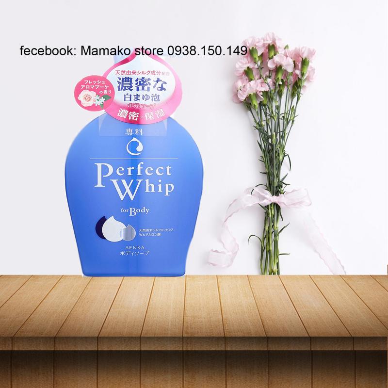 Sữa tắm SENKA PERFECT WHIP  For Body Fresh Aroma bouquet  - 500ml
