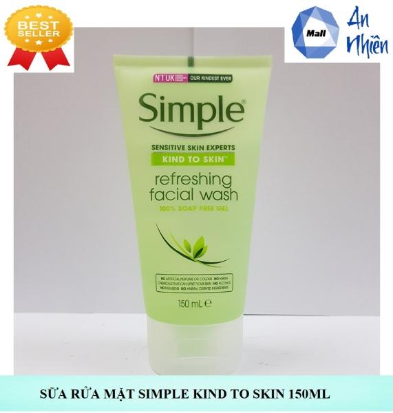 Sửa Rữa Mặt  Simple Kind To Skin 150ml - Mẫu mới giá rẻ