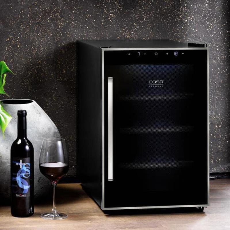 Tủ Đựng Rượu Caso Wineduett Touch 12
