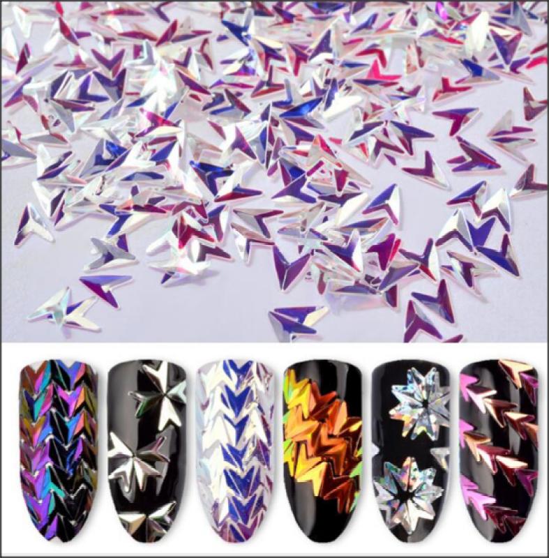 Sét phụ kiện nhọn dán móng trang trí nail giá rẻ