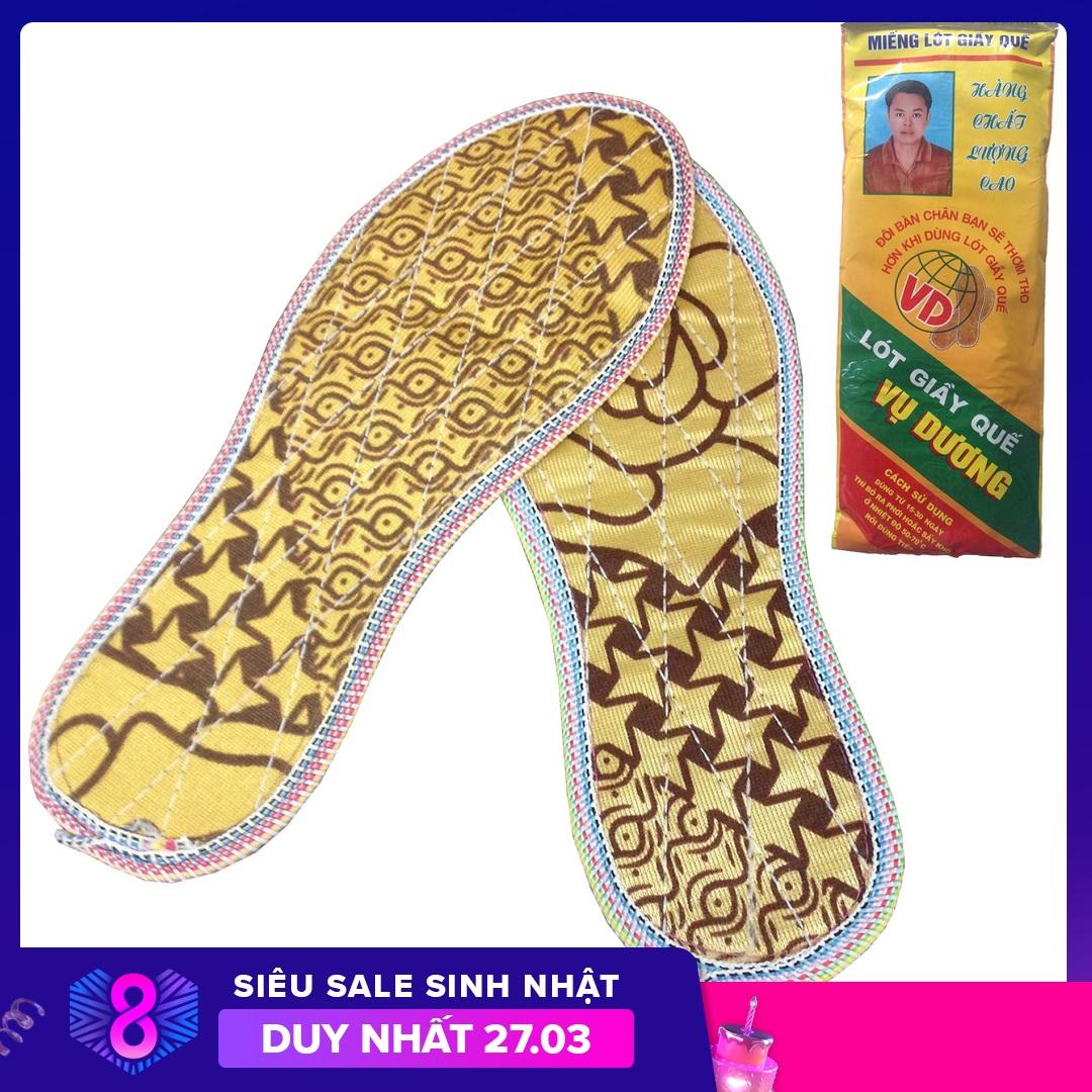 [HCM]Lót quế cao cấp giúp chống hôi chân mùi hương quế dịu nhẹ làm êm chân phụ kiện giày không thể thiếu cho nam