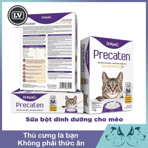 Sữa Bột Cho Mèo Dr.Kyan Precaten 110g