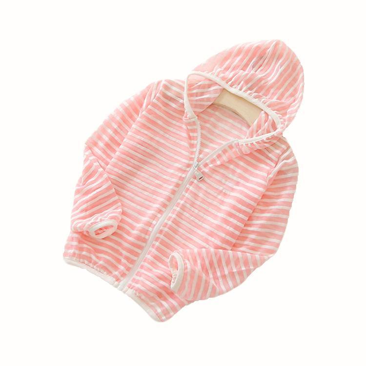 Giá bán Áo khoác sọc chống tia UV cho bé gái 3-9 tuổi – AK004