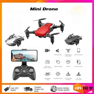 Máy bay camera 4k flycam mini giá rẻ điều khiển từ xa quay phim, chụp ảnh, chống rung quang học kết nối wifi có tay cầm điều khiển thumbnail