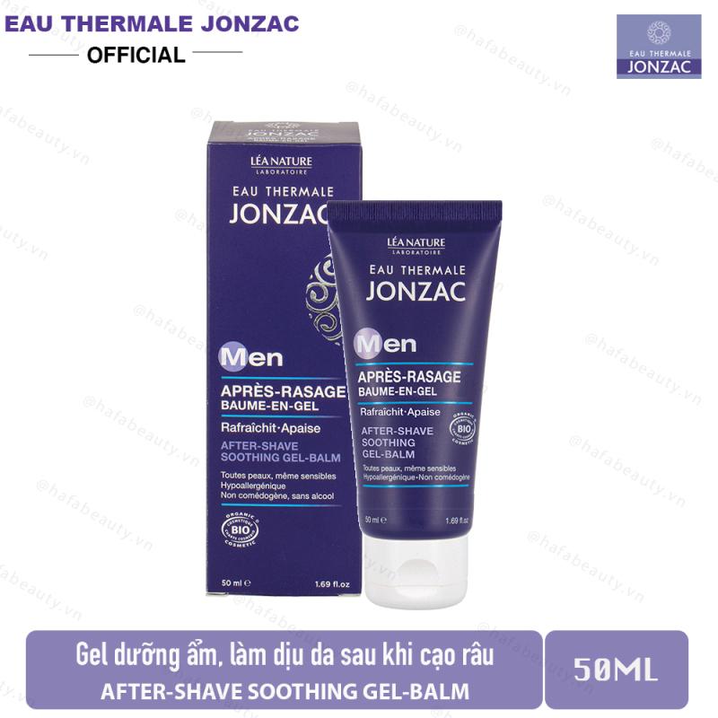 Gel dưỡng ẩm, làm dịu da sau cạo râu Eau Thermale Jonzac MEN After-Shave Soothing Gel Balm 50ml giá rẻ