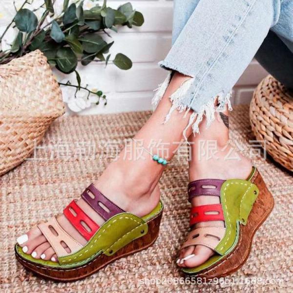 Màu mới khớp giày dép nữ cao gót giày cao gót ở 2021 hè JR