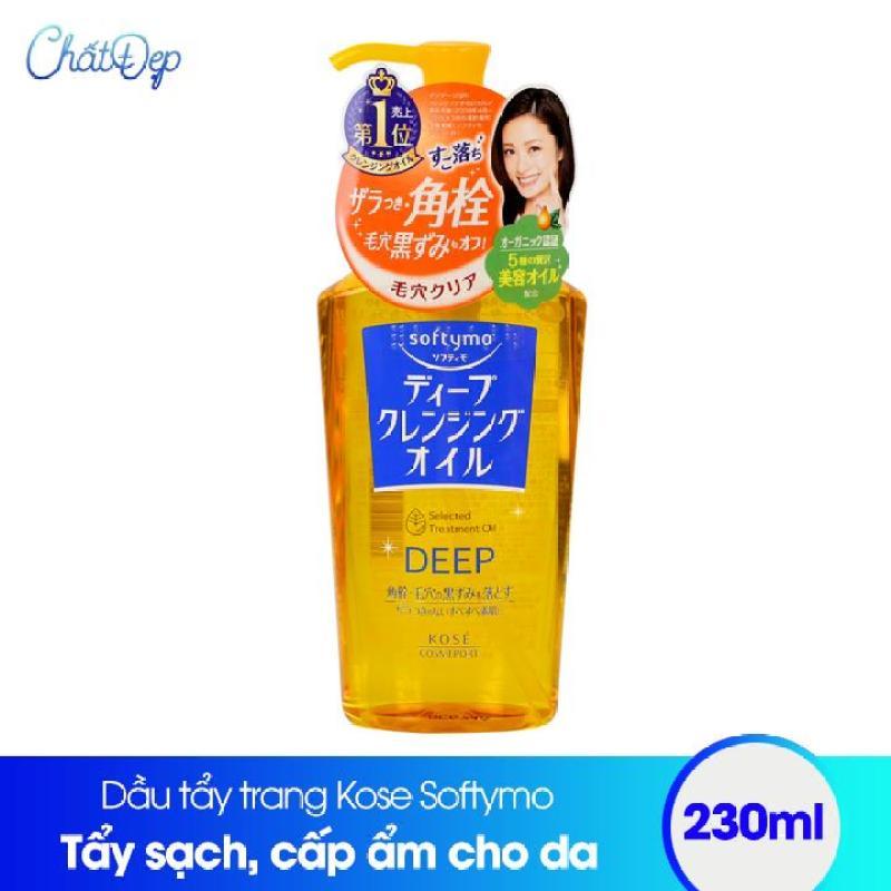 Dầu tẩy trang Kose Softymo Cleangsing Oil 230ml