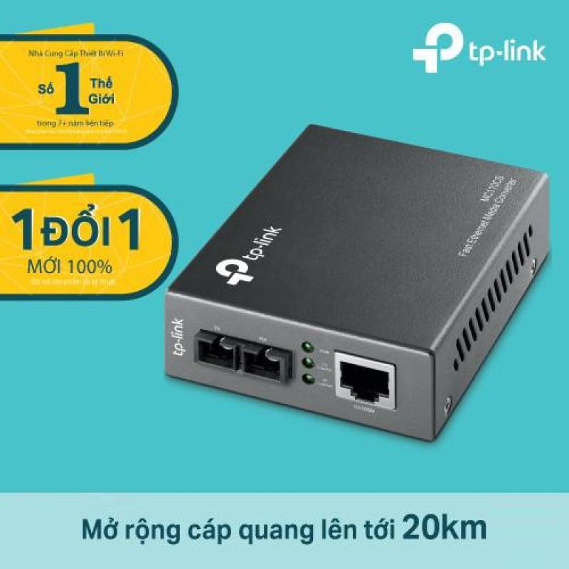 Bảng giá Bộ chuyển đổi quang điện 10/100Mbps TP-Link MC110CS - Hàng phân phối chính hãng Phong Vũ