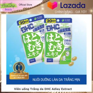 DHC - Viên uống Trắng da DHC Adlay Extract Gói 20 Ngày [xua tan các vết thâm nám đậm màu trên bề mặt, nuôi dưỡng làn da sáng mịn, hồng hào] Hàng Nhật (Healthy-Beauty) thumbnail