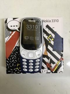 [rẻ vô đối] điện thoại nokia 3310 2SIM,Màn hình 2.4 inch,Camera 2MP,Pin 1200 mAh thumbnail