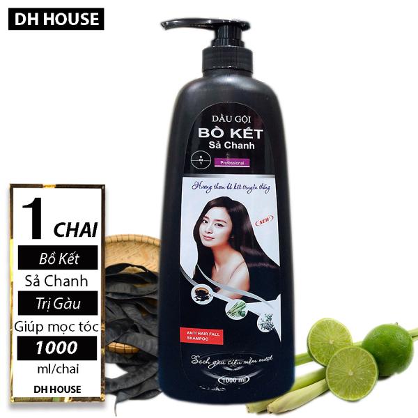 Chai (1000ml) Dầu Gội Bồ Kết Sả Chanh, (Date: 36 tháng) giá rẻ