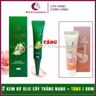 [ Chính Hãng ] Combo 2 Lọ Kem bơ Olic cấy trắng Nano 3in1 chính hãng thay thế kem nền, kem chống nắng. Da trắng sáng tự nhiên thumbnail