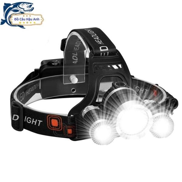Đèn Pin Đội Đầu Đèn Pin Đa Chế Độ Sáng LED T6 Tặng sặc và pin NCDS3