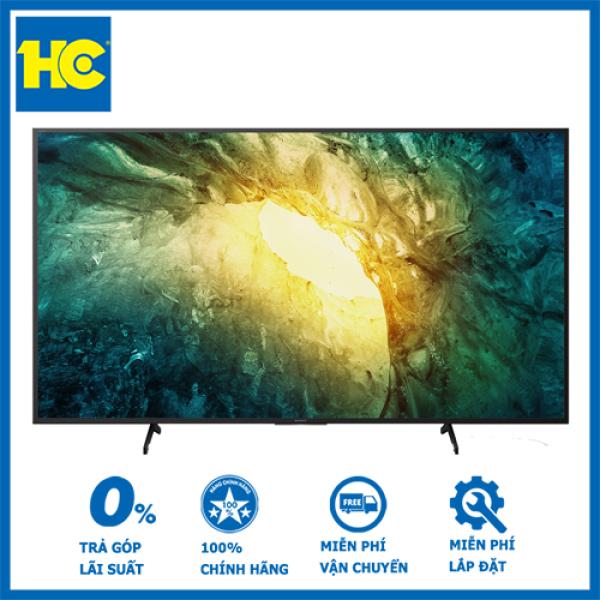 Bảng giá Smart Tivi Android  Sony 4K 65 inch KD-65X7500H- Bảo hành 2 năm - Miễn phí vận chuyển & lắp đặt