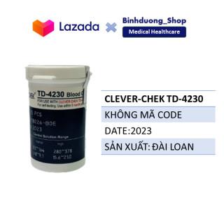 Que thử đường huyết Clever Chek TD 4230 lọ 25 que DATE 2023 thumbnail