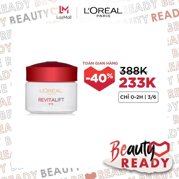 Kem dưỡng da vùng mắt LOreal Paris Dex Revitalift Eye Cream 15ml giá rẻ