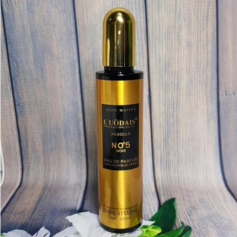 Xịt dưỡng tóc mùi hương nước hoa LUÔDAIS - 220ml cao cấp