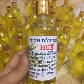 Tinh dầu tràm Huế chai tròn 100ml nguyên chất niềm tin của mọi nhà thumbnail