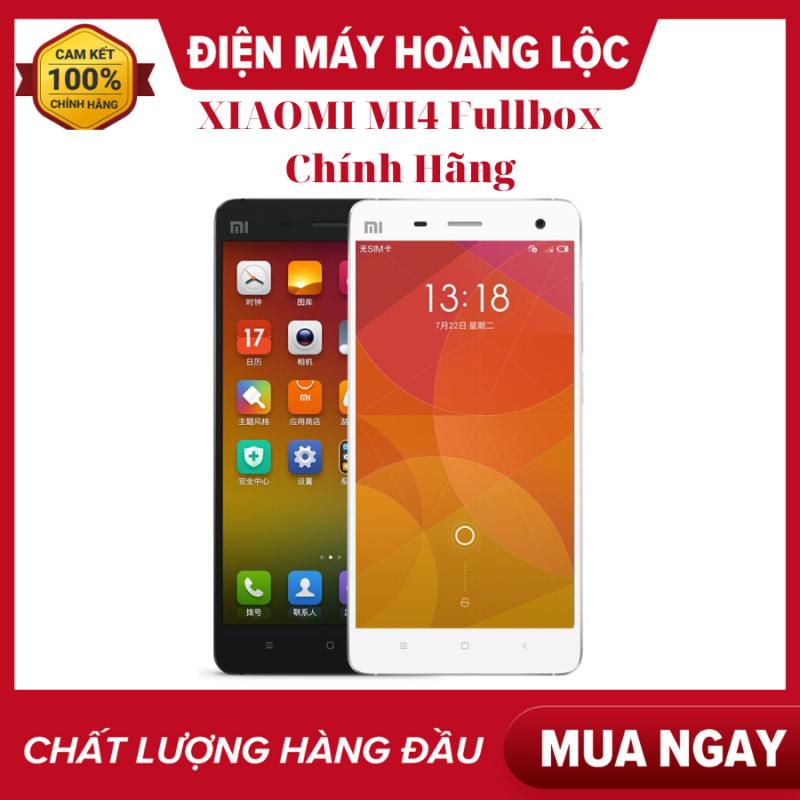 Điện Thoại XIAOMI MI4 RAM 3GB FULLBOX Full Tiếng Việt - Xiaomi Mi 4 bảo hành 1 năm bao đổi 7 ngày miễn phí tận nnhà