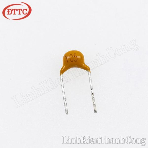 Bảng giá Bộ 30 Chiếc Tụ gốm vàng 105 1uF 50V
