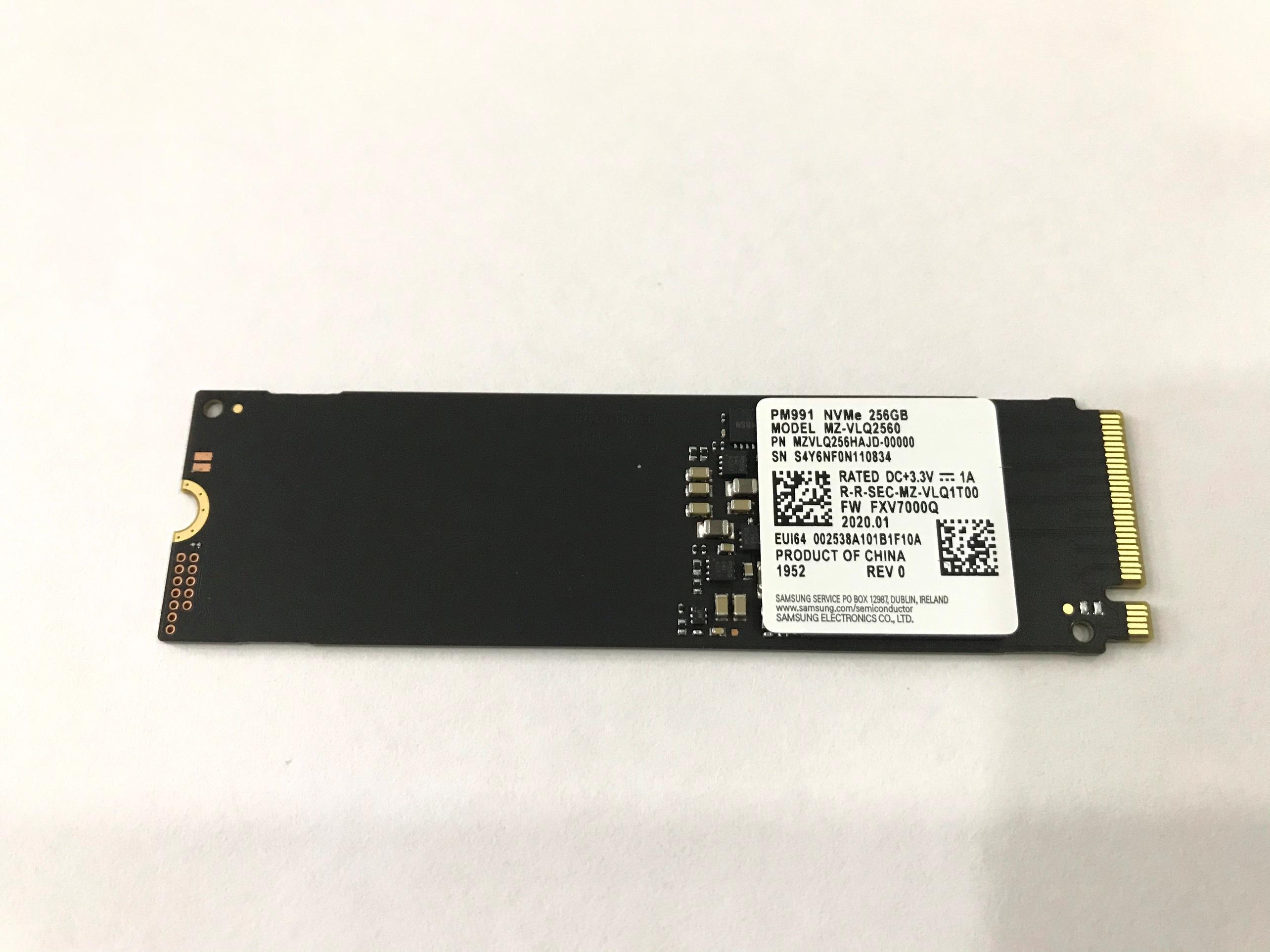 Giá Ổ Cứng SSD Samsung PM991 256GB M2 2280 PCIe NVMe